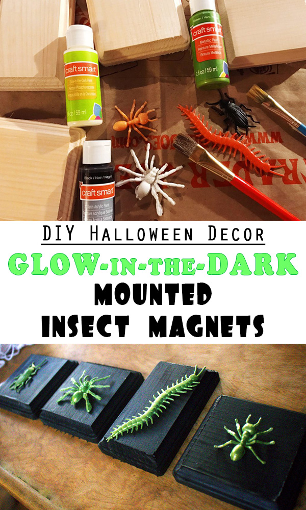 Halloween decor glow in the dark mounted insect magnets the honey bug halloween decor glow in the dark mounted insect magnets solutioingenieria Gallery